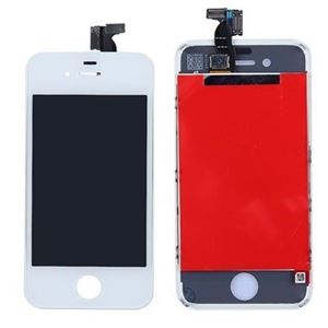 Picture of iPhone 4 LCD Screen Replacement and Digitizer - GSM AT&T - White