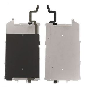 Picture of iPhone 6 Plus LCD Main Metal Backplate Shield with Home Button Extend Flex Cable