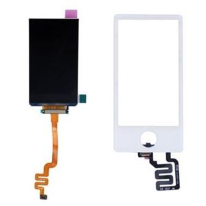 Picture of iPod Nano 7 LCD Screen Replacement and Digitizer - White