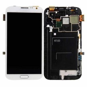 Picture of Galaxy Note 2 Screen Replacement and Digitizer with Frame Samsung - White