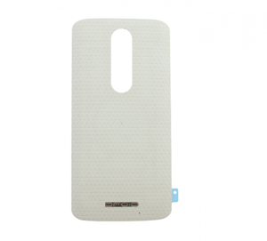 Picture of Motorola Droid Turbo 2 Back Battery Cover Replacement - White
