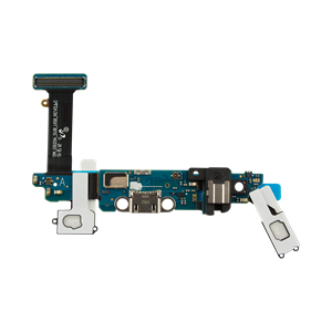 Picture of Samsung Galaxy S6 Charging Dock Port and Headphone Jack