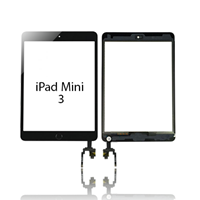 Picture of iPad Mini 3 Screen Replacement Touch Digitizer with Home Button/IC Connector 7.9""