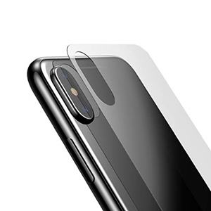 Picture of Back Tempered Glass Screen Protector iPhone X iPhone XS
