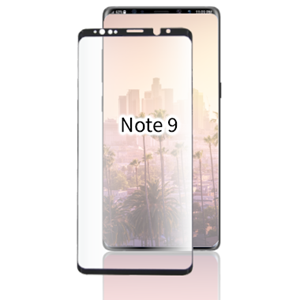 Picture of TEMPERED GLASS FOR SAMSUNG GALAXY NOTE 9 (CURVED CASE FRIENDLY)(BLACK)