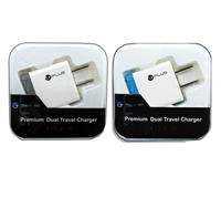 Picture of UPLUS Premium Dual Travel Charger(2.1A)