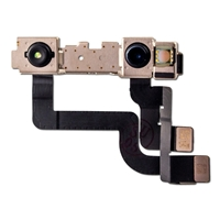 Picture of FRONT CAMERA MODULE WITH FLEX CABLE FOR IPHONE XR (WARNING: SOLDERING REQUIRED FOR FACE ID FUNCTIONALITY)