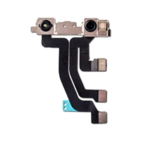 Picture of FRONT CAMERA MODULE WITH FLEX CABLE FOR IPHONE XS MAX (WARNING: SOLDERING REQUIRED FOR FACE ID FUNCTIONALITY)