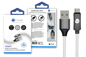 Picture of UPLUS Power+ Micro to USB Charging Cable