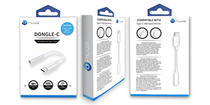 Picture of UPLUS Dongle-C Audio Charge Adapter Cable