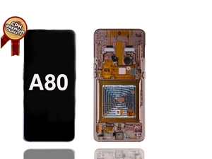 Picture of Samsung A80 LCD AND DIGITIZER WITH FRAME (PREMIUM) (A805)