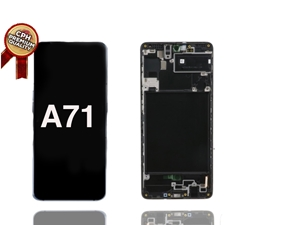 Picture of Samsung A71 LCD AND DIGITIZER WITH FRAME (PREMIUM)(A715)