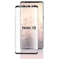 Picture of TEMPERED GLASS FOR SAMSUNG GALAXY NOTE 10 (CURVED CASE FRIENDLY)(BLACK)