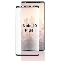 Picture of TEMPERED GLASS FOR SAMSUNG GALAXY NOTE 10 Plus (CURVED CASE FRIENDLY)(BLACK)