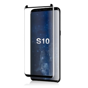 Picture of TEMPERED GLASS FOR SAMSUNG GALAXY S10  (CURVED CASE FRIENDLY)(BLACK)